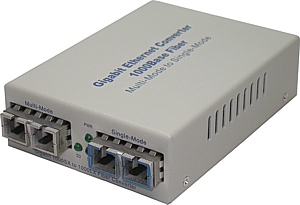 1000Base-LX Single-Mode To 1000Base-SX Multi-Mode Converter, CGM5100SC