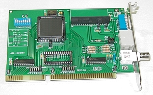 16-Bit ISA ARCnet Network Adapter, AN-520BT