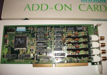 16-Bit ISA ARCnet Network Adapter with Four Active ports, ARC-240