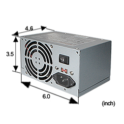 New PC Power Supply Upgrade for HP Pavilion a405n Desktop Computer
